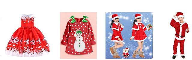 Cermat Memilih Busana Natal Anak