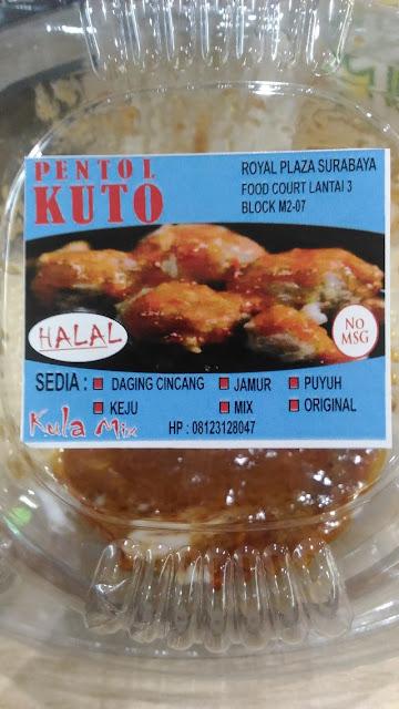 Pentol Enak – Pentol Kuto di Surabaya