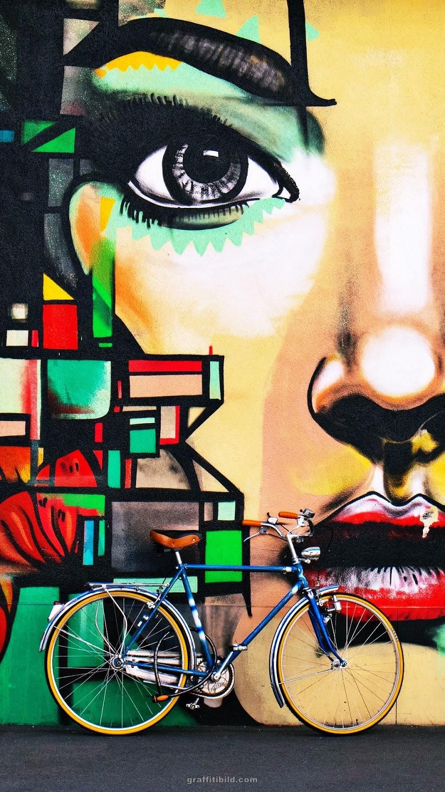 Graffiti Hintergründe für Handys