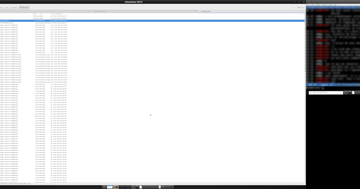 De tout et de rien...: 2015-02-15- Ecran 4k, Debian