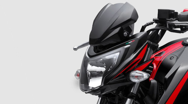 New 2018 TVS Apache RTR 200 4V Race Edition 2.0 Close up