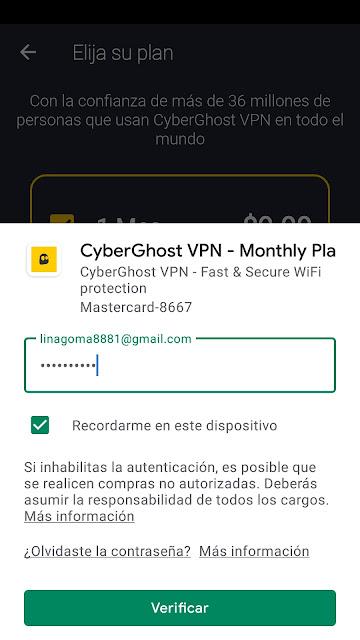 pagar cyberghots con android en google play
