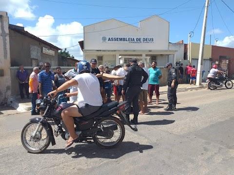 HOMEM É BALEADO ENQUANTO TRABALHAVA NO ALTO DE SÃO MANOEL EM MOSSORÓ-RN