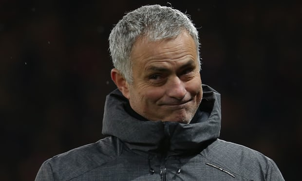 'I think they are a very good team, they are lucky, they have decisions in their favour' said José Mourinho of Manchester City. Photograph: John Peters/Man Utd via Getty Images