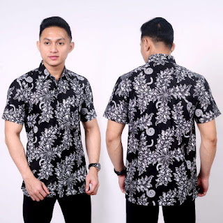 Kemeja Batik Pria No 9