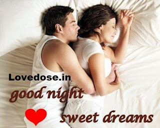 romantic good night images for him