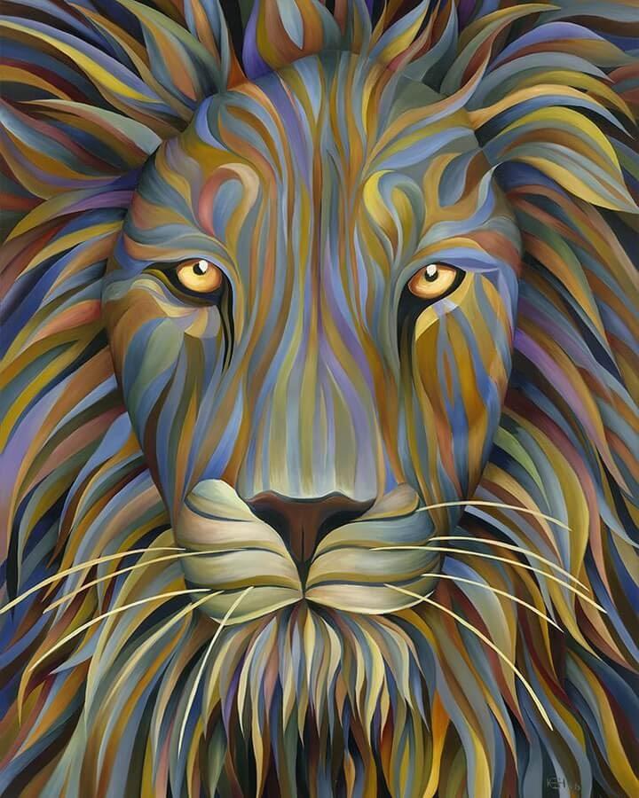 03-Lion-Kate-Hoyer-www-designstack-co