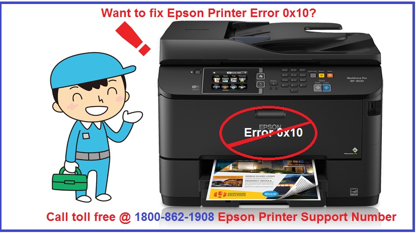 Easy Way to Fix Epson Printer Error 0x10 with ease