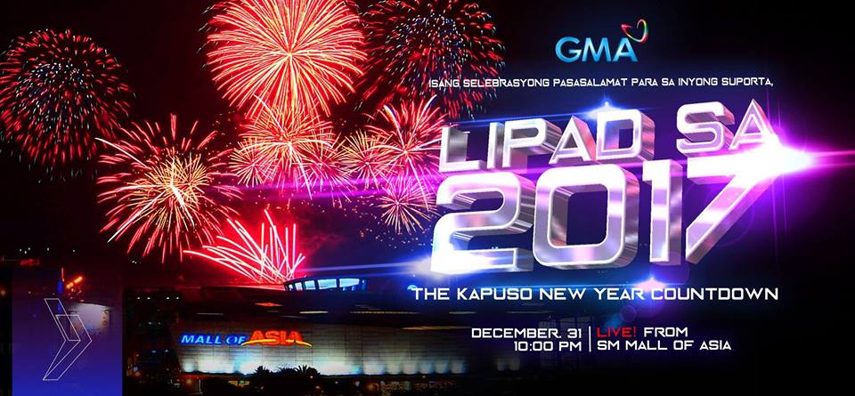 New Year Countdown to 2017  Top 17 Places  Events in Metro Manila     Lipad sa 2017  The GMA Kapuso New Year Coundown