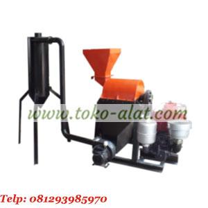 Mesin penepung (hammer mill) besi dengan cyclon