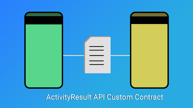 android activity result api custom contract sample code