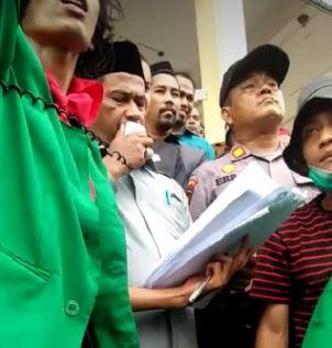 Jihar News, Didemo Mahasiswa, Ini Tanggapan Ketua Sementara DPRK Aceh Utara
