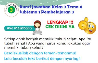 unci Jawaban Kelas 3 Tema 4 Subtema 1 Pembelajaran 3 www.simplenews.me