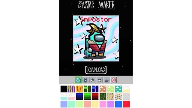 Website AmongUsAvatarMaker. Com