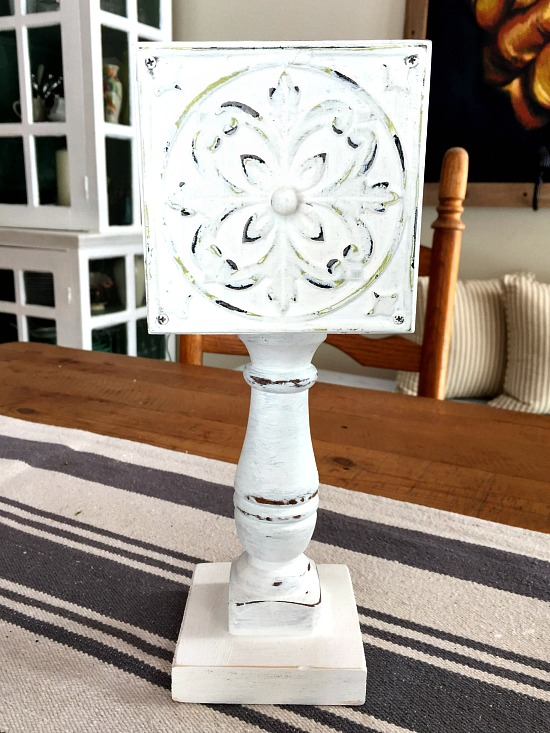 Repurposed old Drawer Pedestal Dish