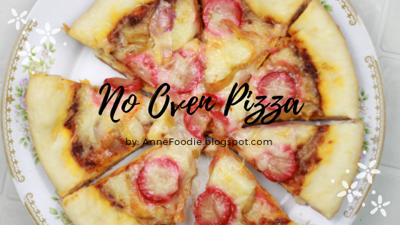 No Oven at home? Try this super easy Homemade No Oven and No Stand Mixer Pizza by hand. No need for you to cook this in the oven, just simply cook it in your stove.