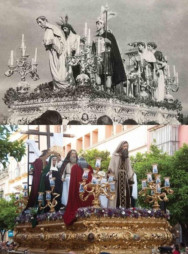 La Hermandad de San Benito vendió su canastilla al la Hermandad de Santa Marta de Jerez