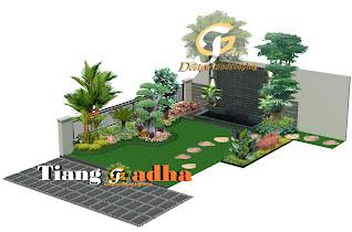 jasa desain taman surabaya tianggadha art