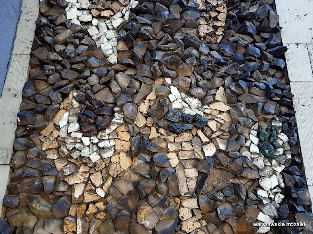 Warszawa Warsaw warszawskie mozaiki mosaic Maria Leszczyńska Ochota