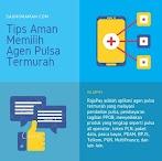 Tips Aman Memilih Agen Pulsa Termurah