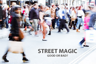 Should I Stop People on the Street to Show Them Street Magic Tricks?