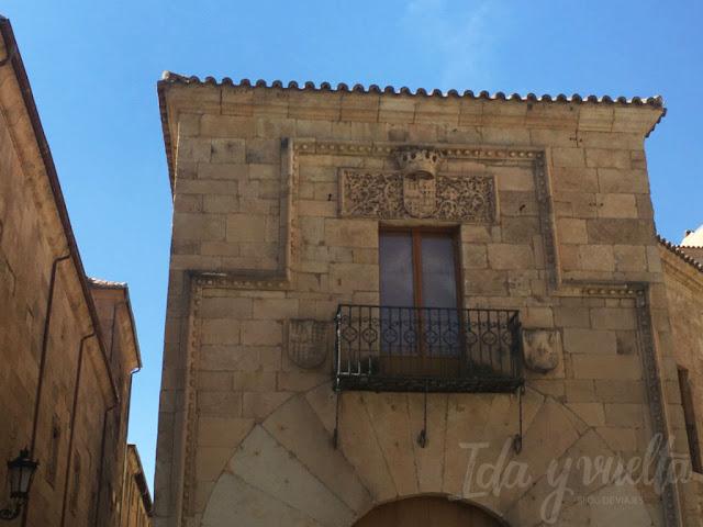Palacios de Salamanca Doña María la Brava