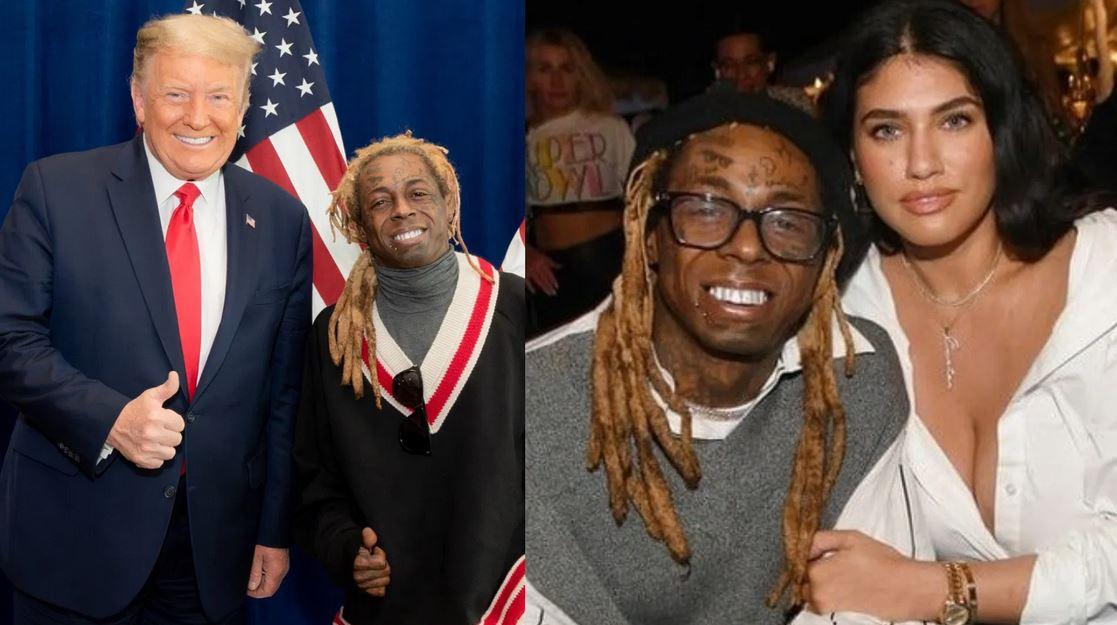 Lil Wayne's Girlfriend Dumps Him For Endorsing Donald Trump #Arewapublisize