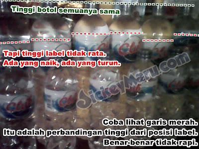 Air Mineral Palsu