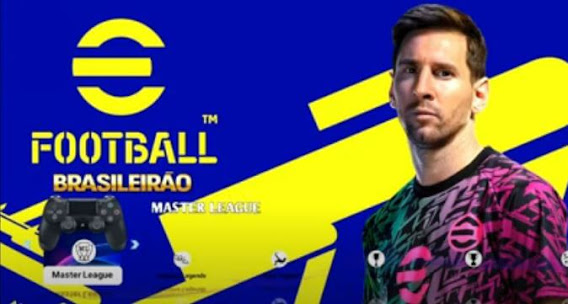 Download PES 2022 PPSSPP MESSI to PSG Android Offline New Update
