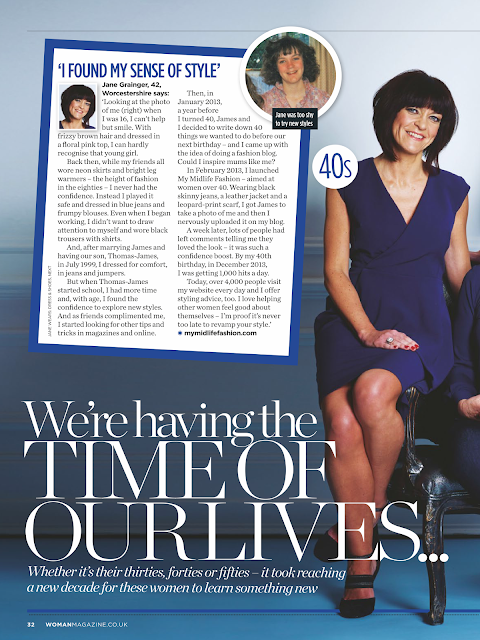 My Midlife Fashion Woman Magazine Feature