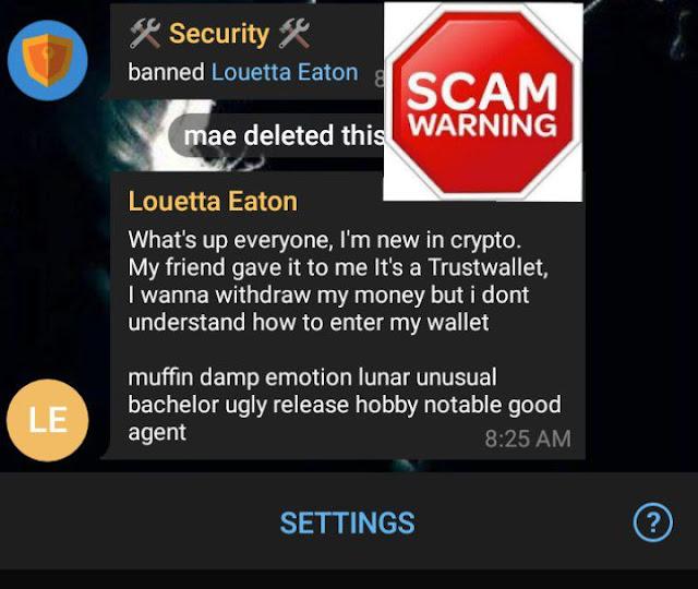 Scam Crypto tricks