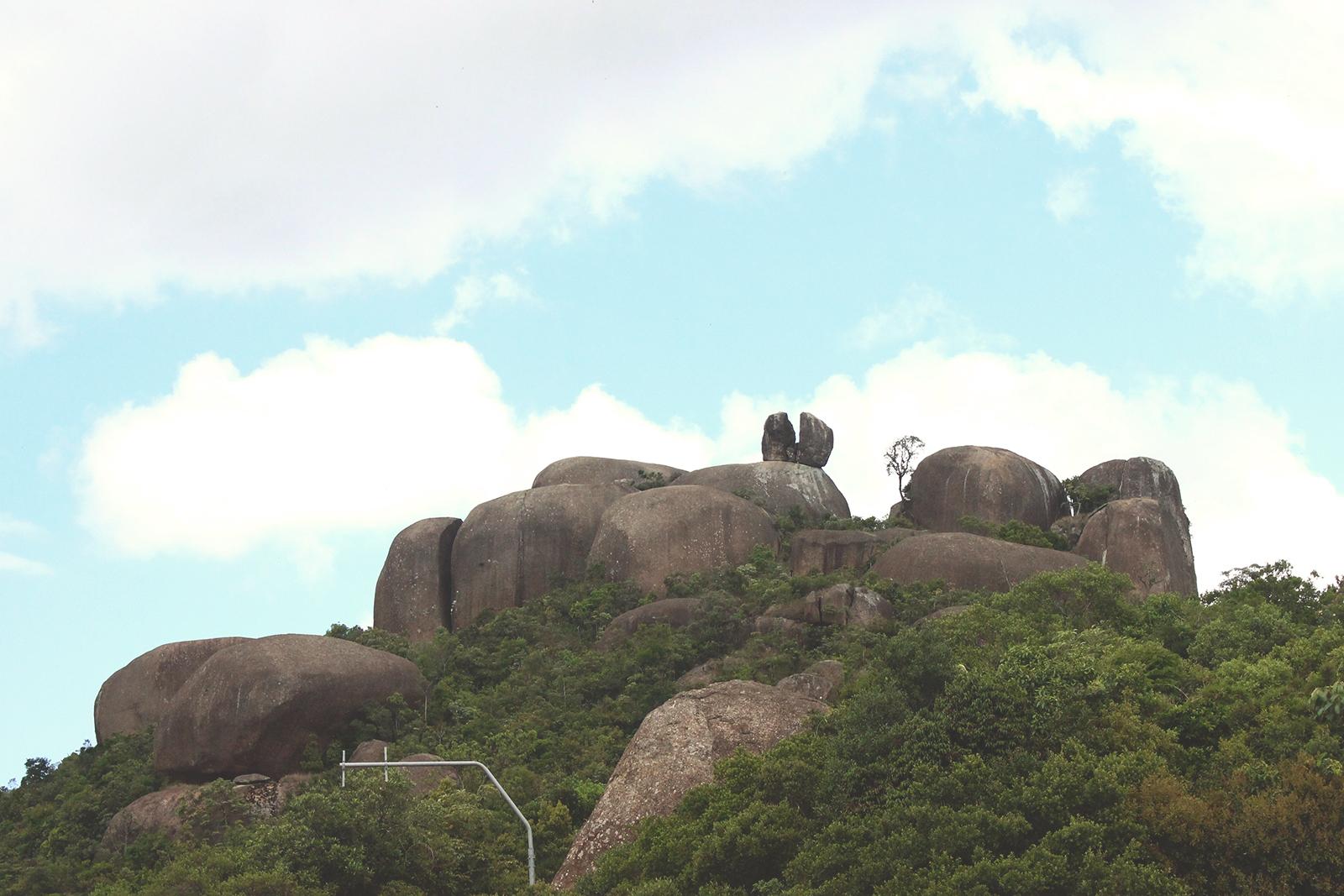vista pedras empilhadas