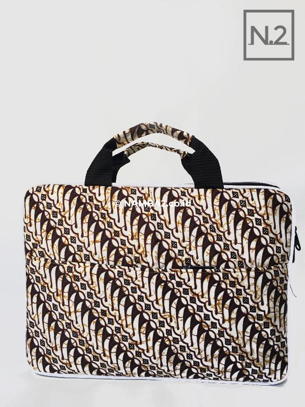 Tas Laptop Batik Ready Stock Souvenir Seminar Kit