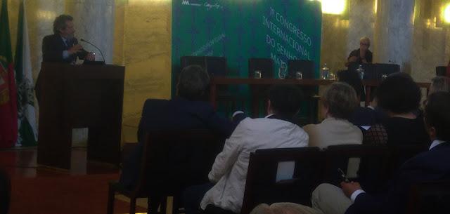 palestra do I Congresso Internacional do Senhor de Matosinhos
