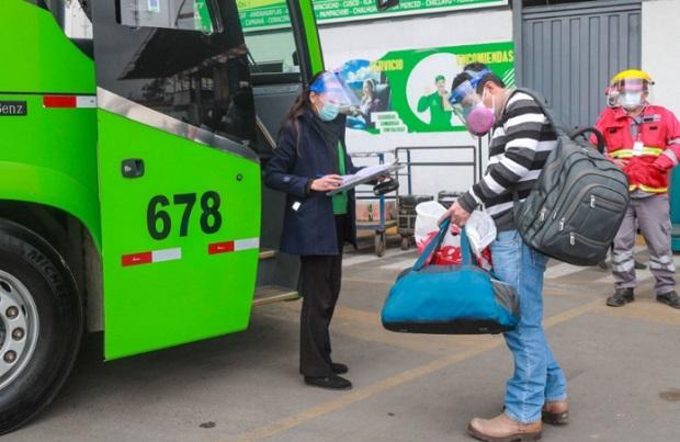 Semana Santa: transporte interprovincial se suspenderá del jueves 1 al sábado 3 de abril