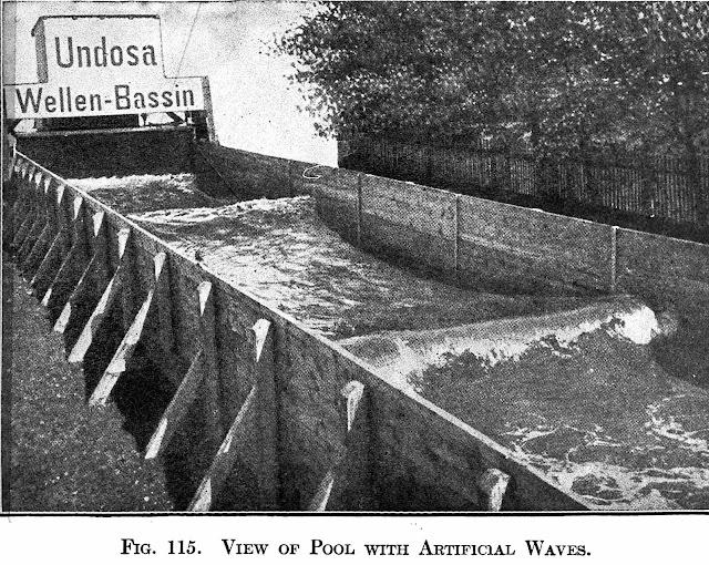 A photo of an Undosa 1908 wave-making machine