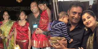 Prakash Raj Family Wife Parents children's Marriage Photos