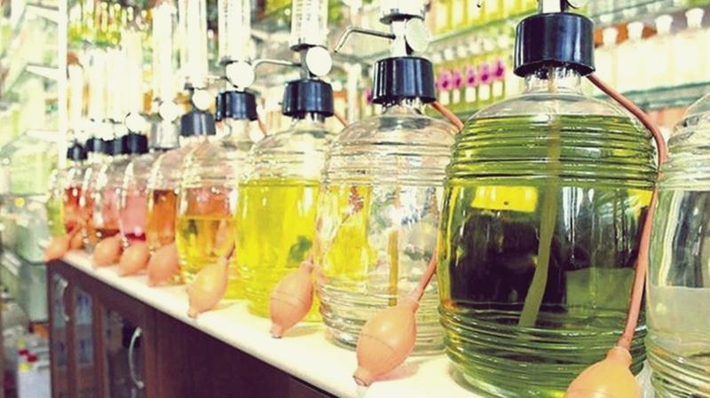 Alkol, kolonya ve parfüm