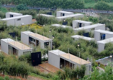 Boutique Hotel Built from Shipping Containers, China 20