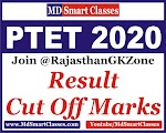 Rajasthan PTET Result and Cut Off Marks 2020