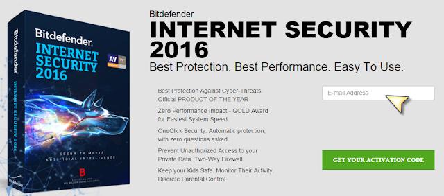 احصل فورا على سيريال قانوني وفعال لعملاق الحماية Bitdefender Internet Security 2016