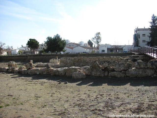 Китион - циклопическая стена