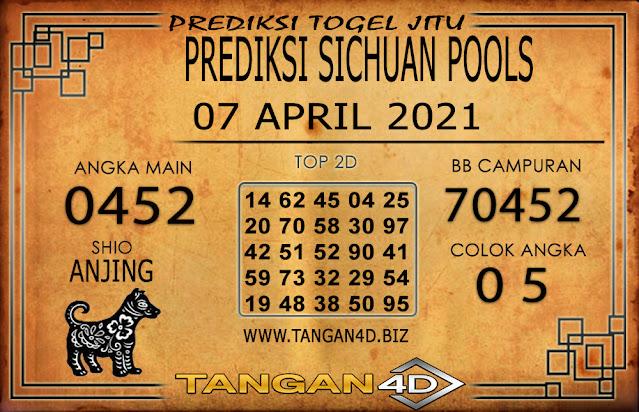 PREDIKSI TOGEL SICHUAN TANGAN4D 07 APRIL 2021