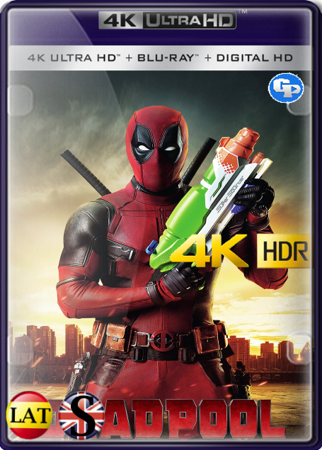 Deadpool (2016) 4K HDR LATINO/INGLES
