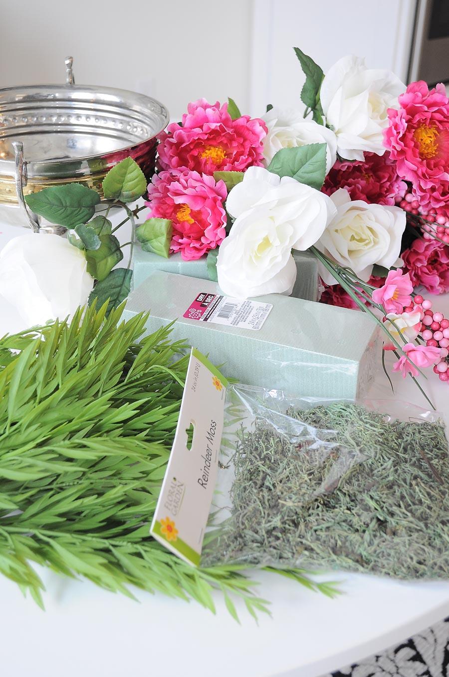 How To Create Gorgeous Faux Floral Arrangements Monica Wants It
