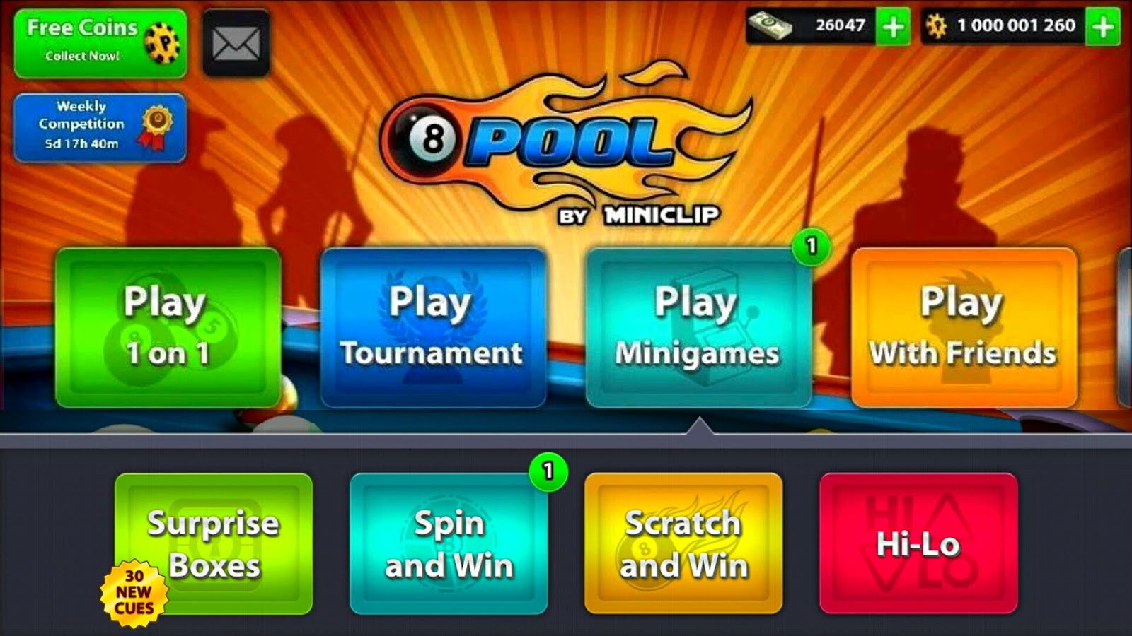 8 ball pool unlimited money apk android 1