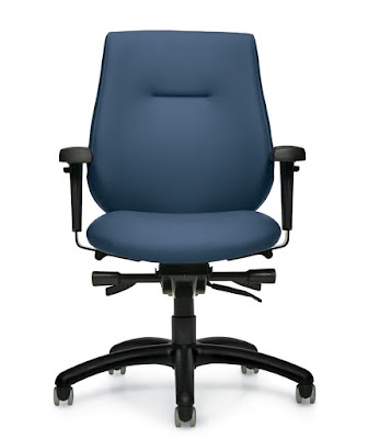 antibacterial vinyl office chair