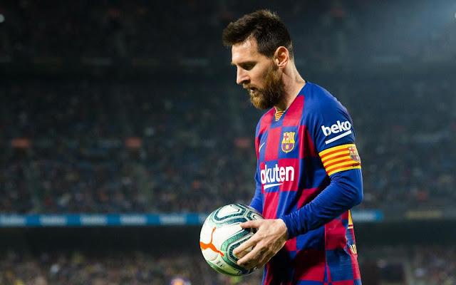 ميسي يعود لقائمة برشلونة قبل مواجهة فالنسيا في الدوري الاسباني