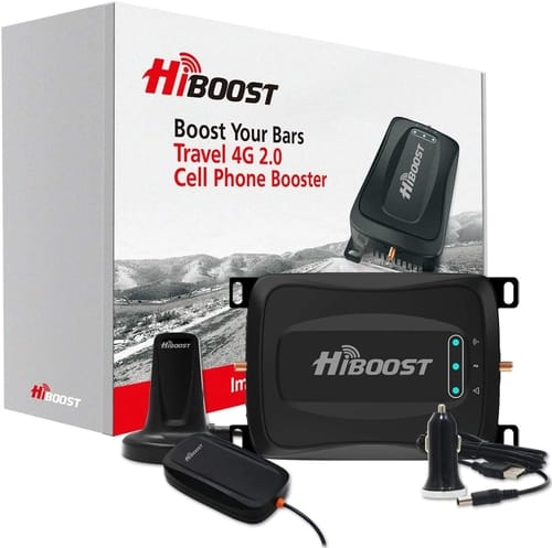 HiBoost Cell Phone Booster for Car SUV Vehicle